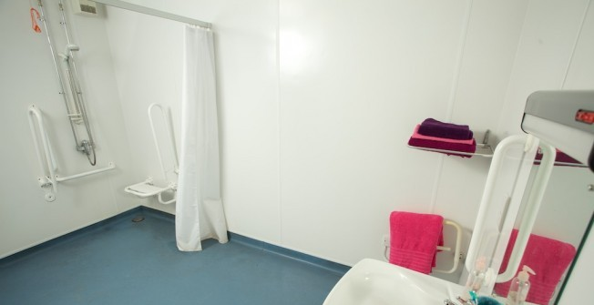 Disabled Bathroom Design in Abercegir