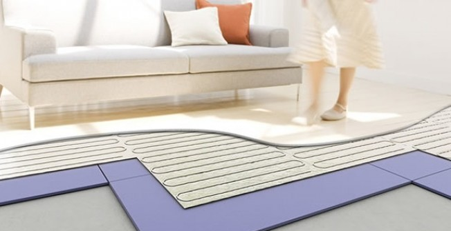 Floor Heating Installation in Achddu