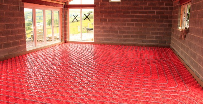 Underfloor Heating Installation in Abermorddu